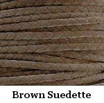 Brown Suede Bolo Cord