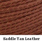 Saddle Tan Leather Bolo Cord