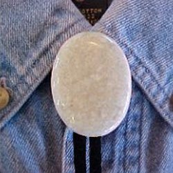 Naked Riverstone Bolo Tie